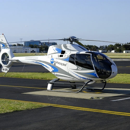 Ferry flights airplanes helicopters EC120