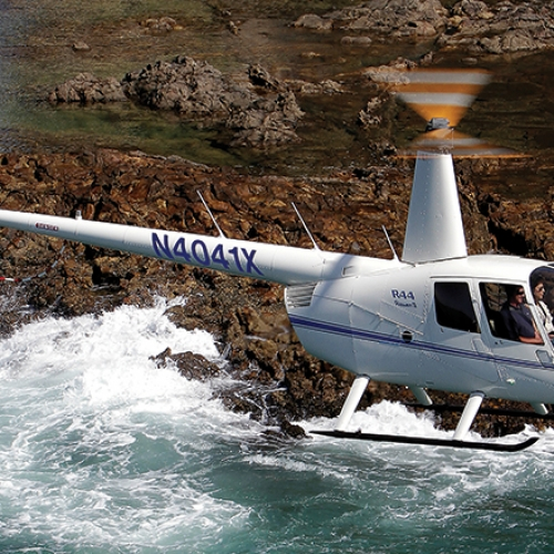 Ferry Flights Robinson Helicopter R44
